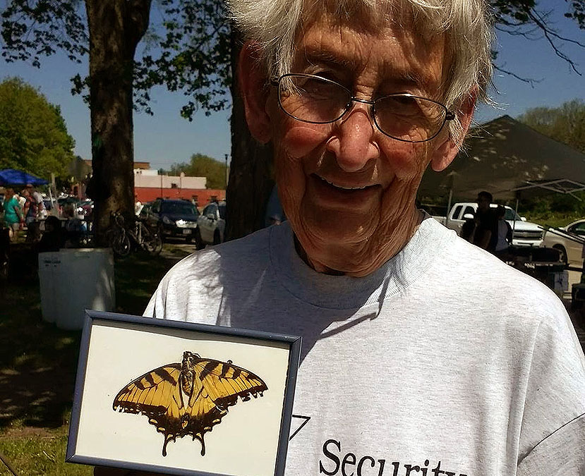 Neighbor, Rachel Engelhardt shares her monarch