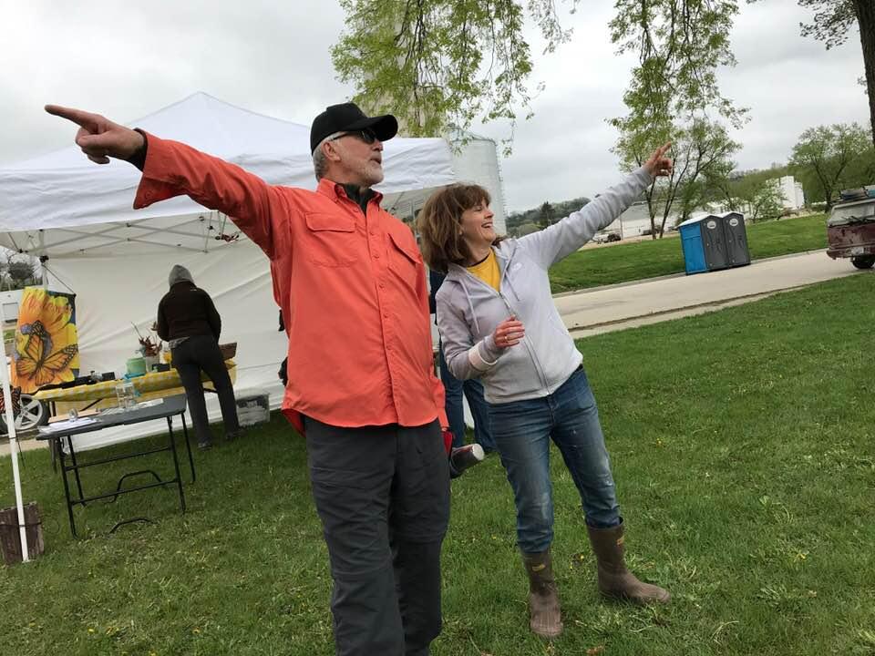 Organizers Daryl Bruxvoort & Joleen Jansen