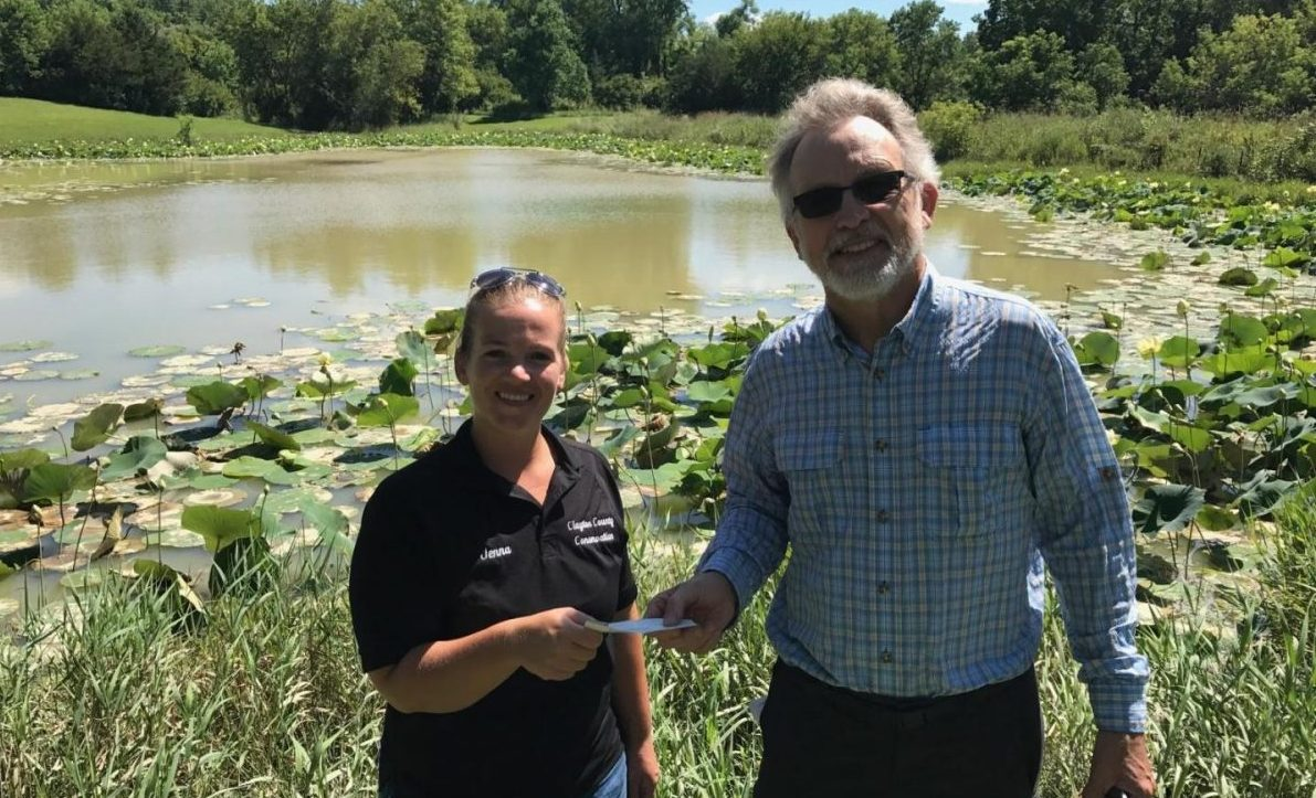 Clayton County CAN! is helping to restore the Osborne Pond